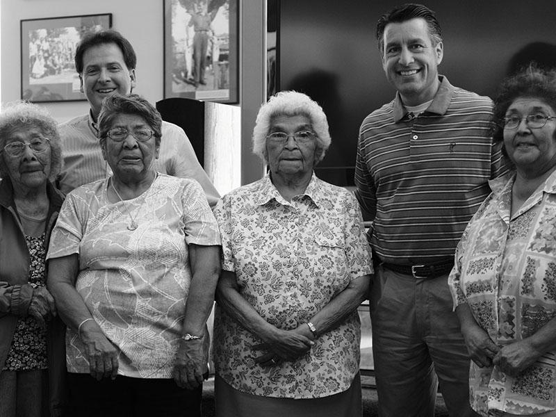 Governor Sandoval, Paiute Tribe